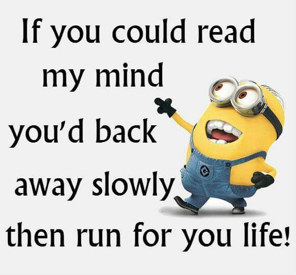Why are these quotes backed up with minion images though? Like, I don't understand the link..?