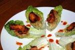 Pittige kiphapjes met limoen guacamole
