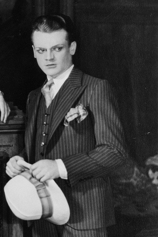 """""""James Cagney in the play Maggie the Magnificent, 1929."""""""