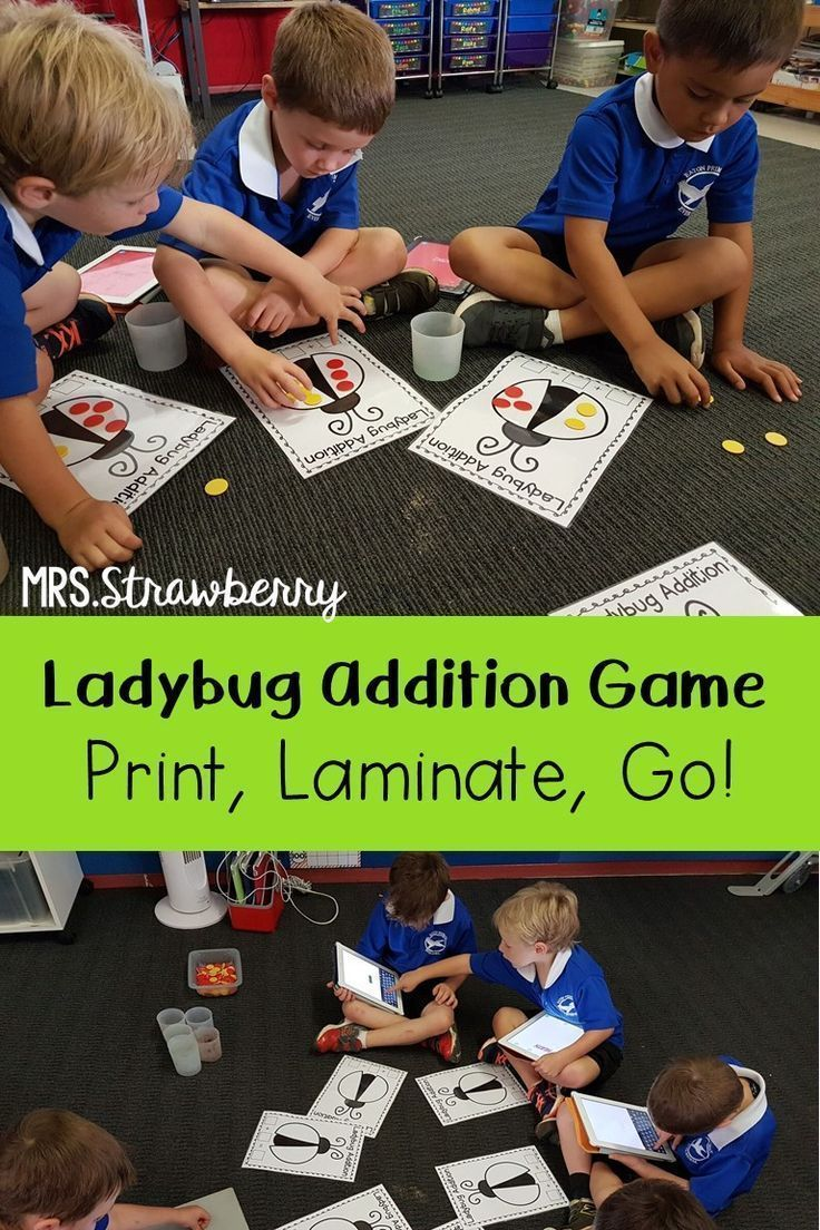 Predownload: Ladybug Addition Activity Use These Printable Worksheets To Help Your Kindergarten 1st Or 2nd Grade Classro Addition Activities Addition Fun Home Schooling [ 1104 x 736 Pixel ]