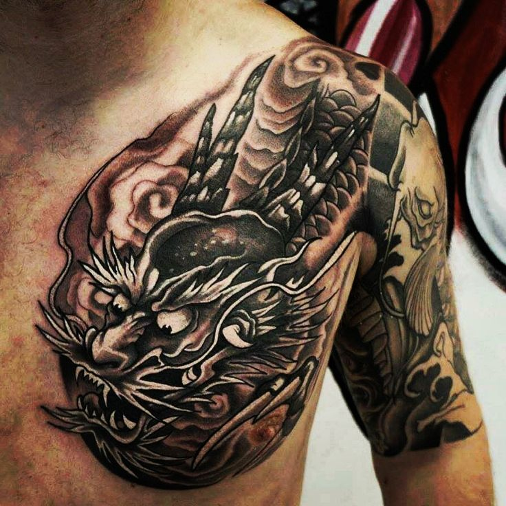 Tiger And Dragon Full Chest Piece: 17 Best Ideas About Tattoo Glasgow On Pinterest