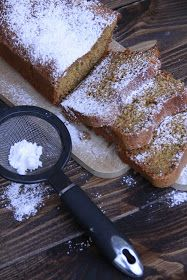 tea's kitchen: Plumcake al grano saraceno, miele, limone, semi di papavero