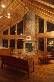 Chalet 1200 sq. ft. Oak Cabin Kit $18,950