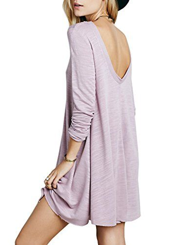 summer loose crossover dress - Google Search