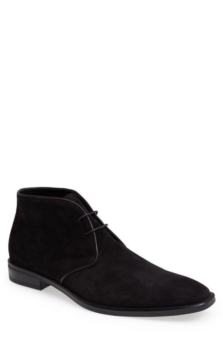 'Bishop' Chukka Boot (Men) BLACK SUEDE at Dash Hudson Dash Hudson is