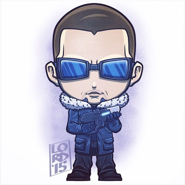 The Rogues: Captain Cold!!! Lord Mesa