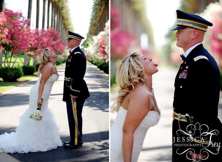 Saluting Our Troops 10 Military Themed Weddings And Engagements | Military,  Army And Army Wedding