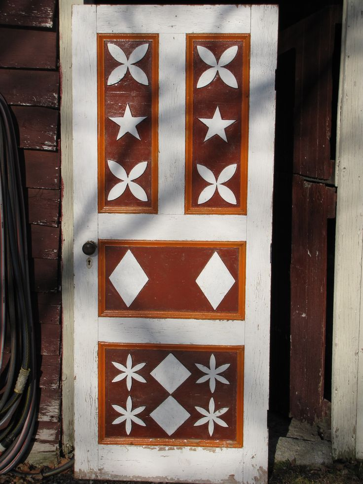 collectivator.com :: Carved and painted door from Cape Breton