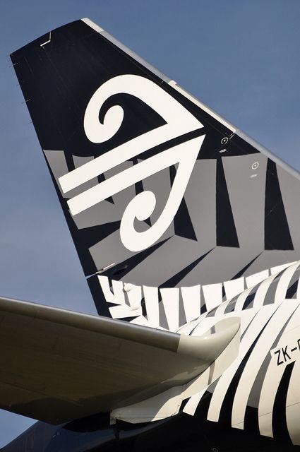 [10:55] NZ0002 AKL-LAX-LHR. by A380spotter, via Flickr