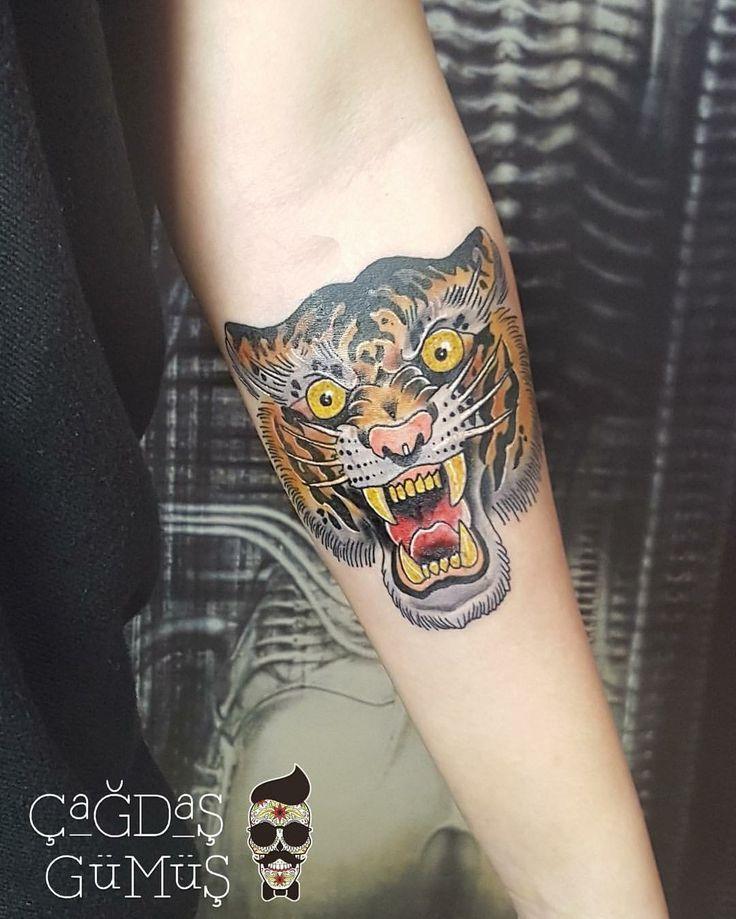 Tiger tattoo - kaplan dövmesi