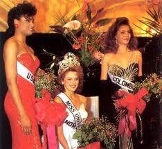 Miss Universe 1990, Norway's Mona Grudt