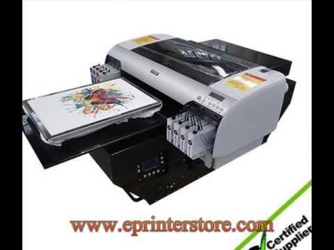 Best 2016 Hot design A2 WER-D4880T size digital desktop t-shirt printer in Kenya - Eprinterstore.com