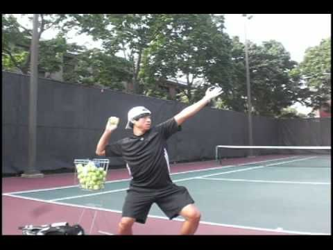 Tennis Serve - 3 Points To Help You Serve Better In Tennis - YouTube