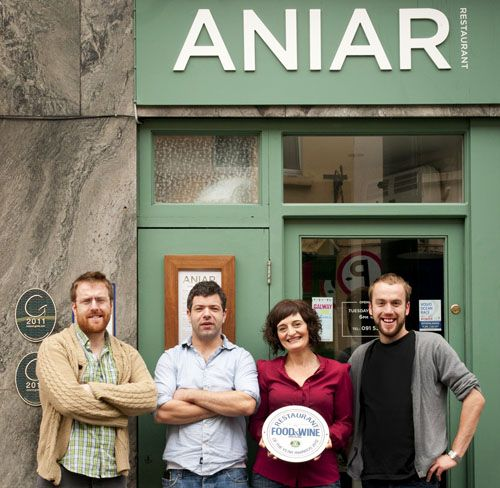 The award-winning Aniar Restaurant in Galway / Aniar - West / ag teacht aniar - coming from the west /  Photo: Julia Dunin Photography.