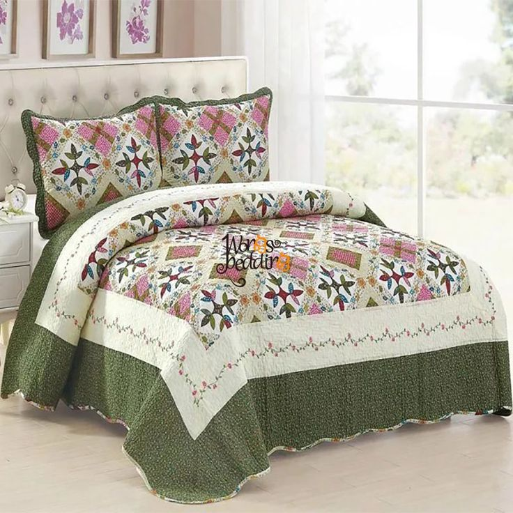 100% Cotton Bedspread quilt blanket beautiful black white brown blue pink Coverlets Bed Linen bed cover bedding #Affiliate