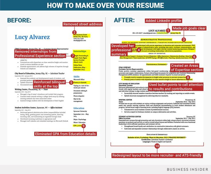 10 ways to fix your résumé when you're not entry-level anymore