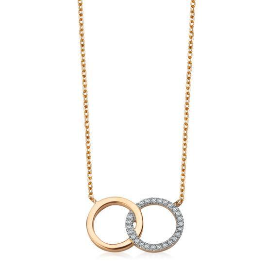 Naszyjnik z Diamentami, 1449PLN www.YES.pl/54400-naszyjnik-z-diamentami-BB-Z-000-Y06-10282 #jewellery #gold #BizuteriaYES #shoponline #accesories #pretty #style