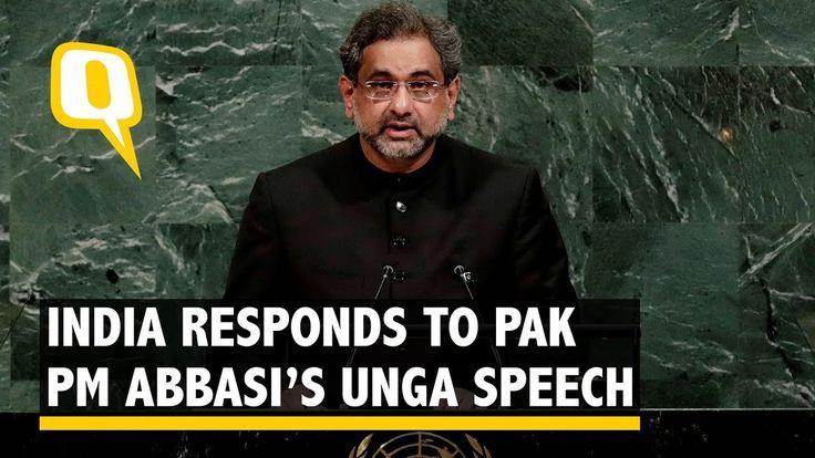 Pakistan is Terroristan: India Hits Back at Pak PM Abbasi at UNGA - The ...