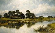"""New artwork for sale! - """" Leader Benjamin Williams Severn Side Sabrina S Stream At Kempsey On The River Severn by Benjamin Williams Leader """" - http://ift.tt/2owqs7U"""
