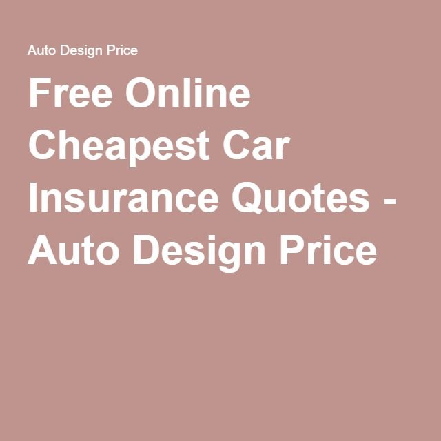 Insurance Quotes For Car: 1000+ Ideas About Cheapest Car Insurance On Pinterest