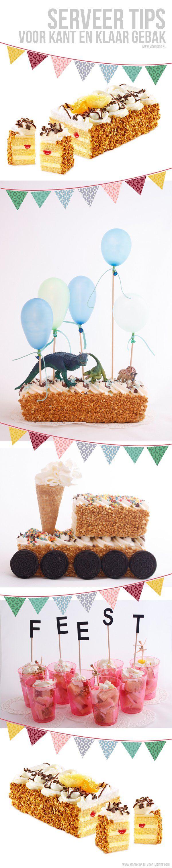 In 5 minuten van zelfgekocht naar zelfgemaakt - Moodkids #taart #cake #birthday #caketoppers #spon #diy #party