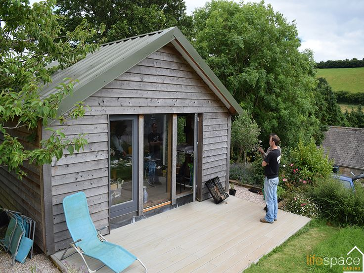 Beautiful home office oak frame cabin |Life Space Cabins
