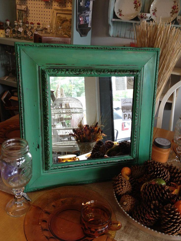 26 best images about 8 room on pinterest florence for Teal framed mirror