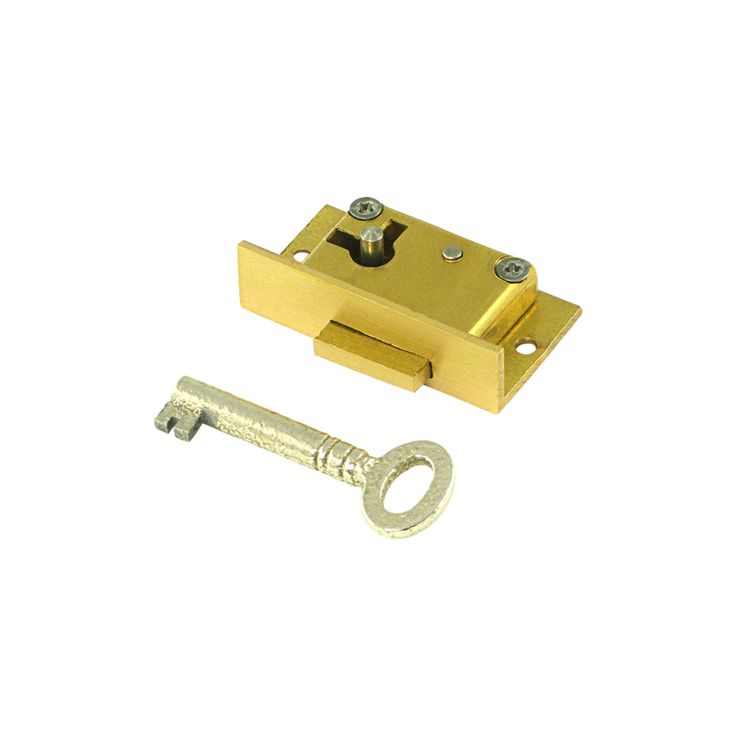"Miniature Cabinet LH Door Lock 1 1/2"" :: Whitechapel Ltd."