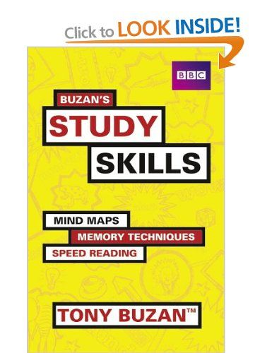 Buzans Study Skills: Mind Maps, Memory Techniques, Speed Reading and More! Mind Set: Tony Buzan: Books