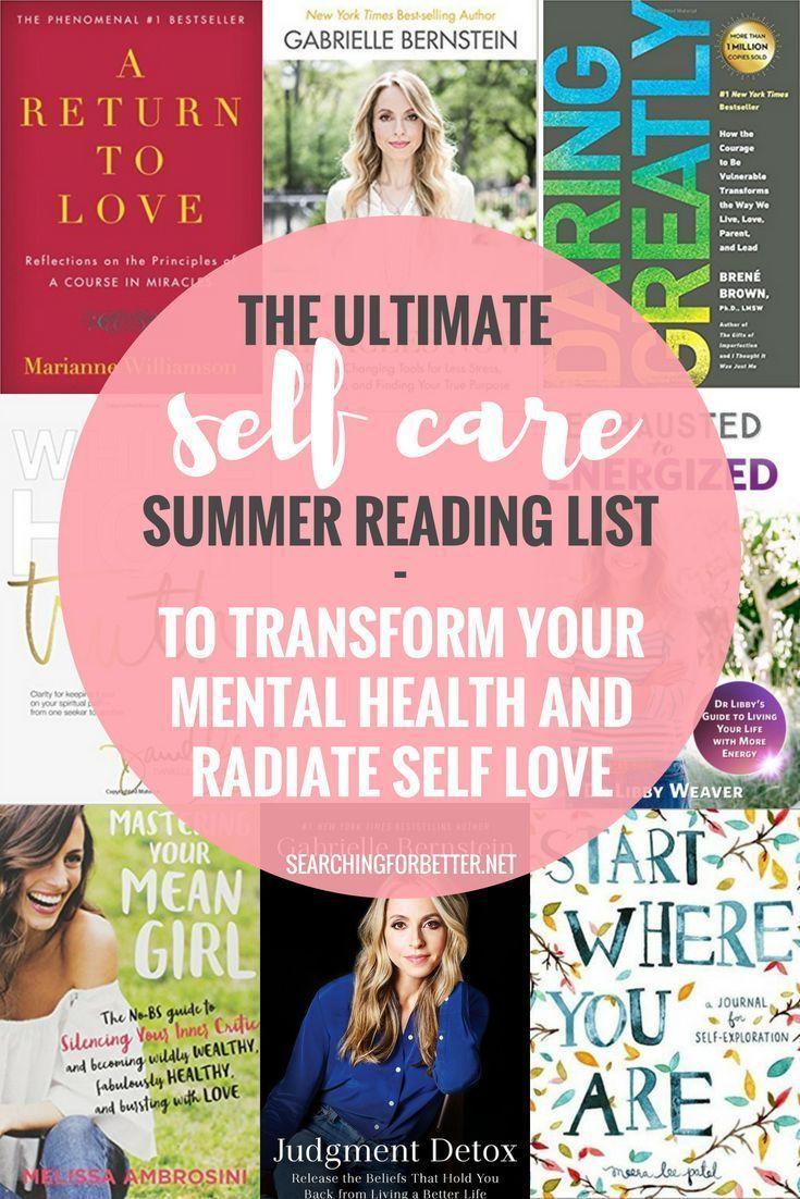 25 Self Care Books To Improve Your Mental Health | Books