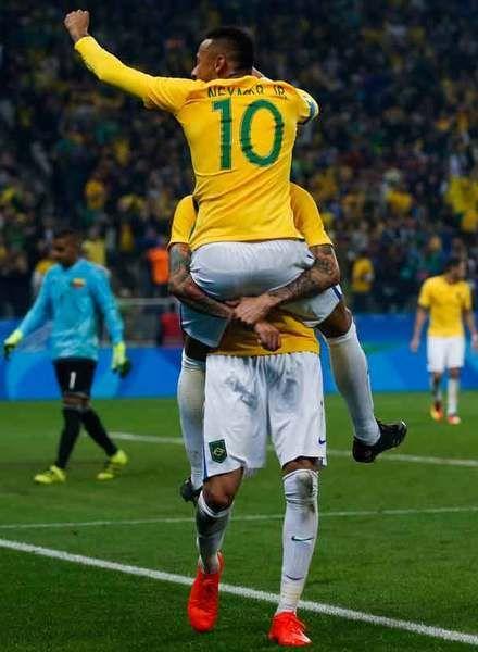 ブラジル、ついにネイマールがゴール! ドイツとともに男女4強入り/五輪サッカー
