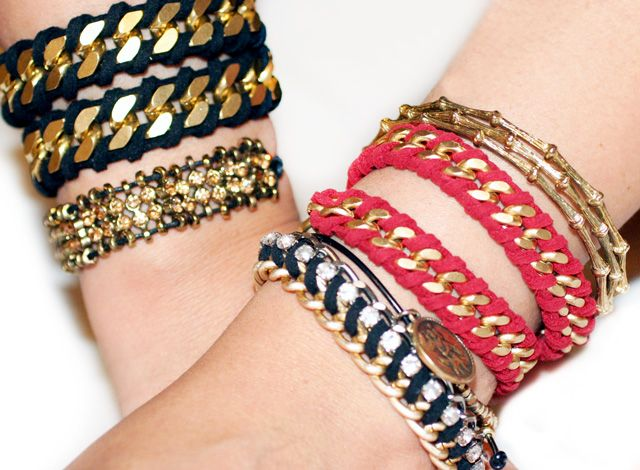 chair rope bracelets: Wraps Chains, Chain Bracelets, Wraps Bracelets, Chains Bracelets, Diy'S, Diy Fashion, Ropes Wraps, Diy Jewelry, Diy Bracelets