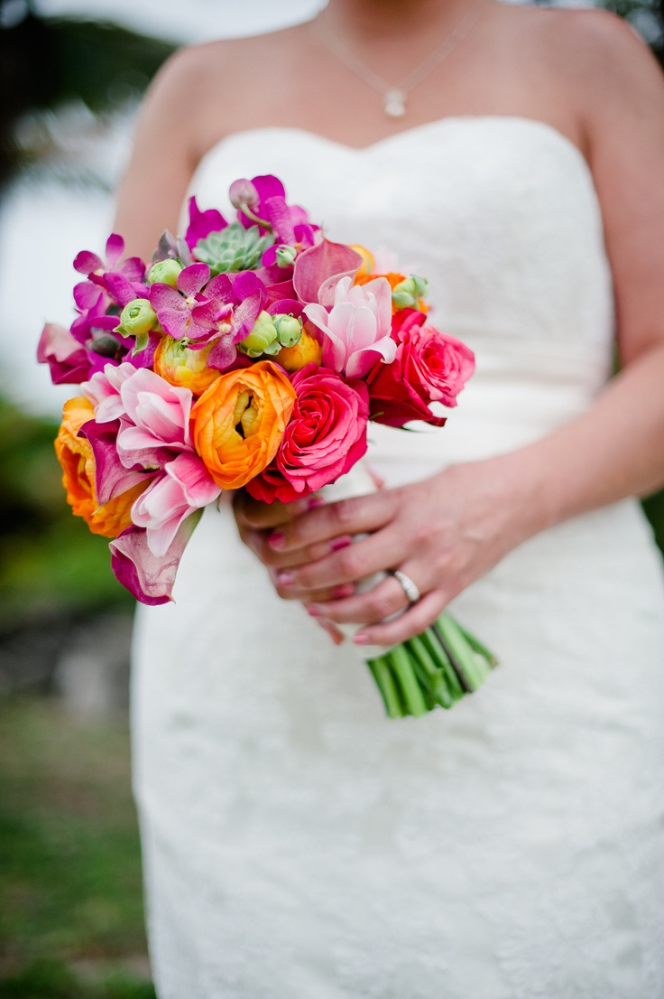 270 best Tropical wedding bouquets images on Pinterest   Tropical ...
