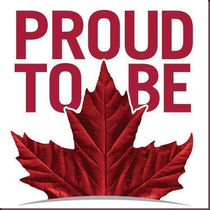 Proud to be Canadian
