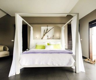 Villa Victoria - Vitet. The perfect 2-bedroom contemporary villa for a quick escape with friends in St Barth.