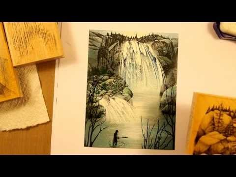Stampscapes 101: Video 55. Double Falls. - YouTube