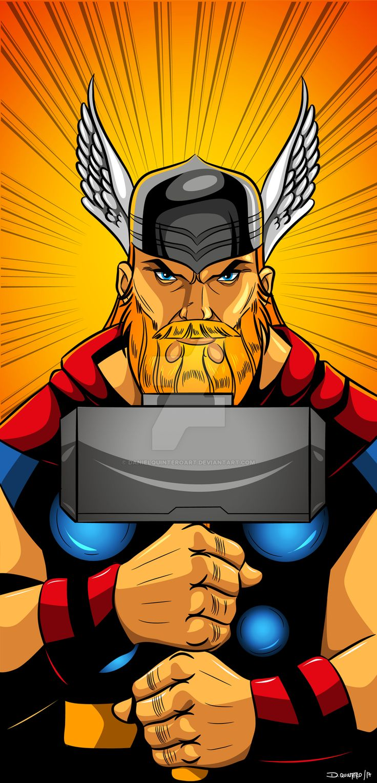 Thor  Comic- Vector  #Vector #vectores #adobe #adobeillustrator #illustration #illustrator #illustrations #comic #comics #comiccon #thor #followme #Follownew #follownow