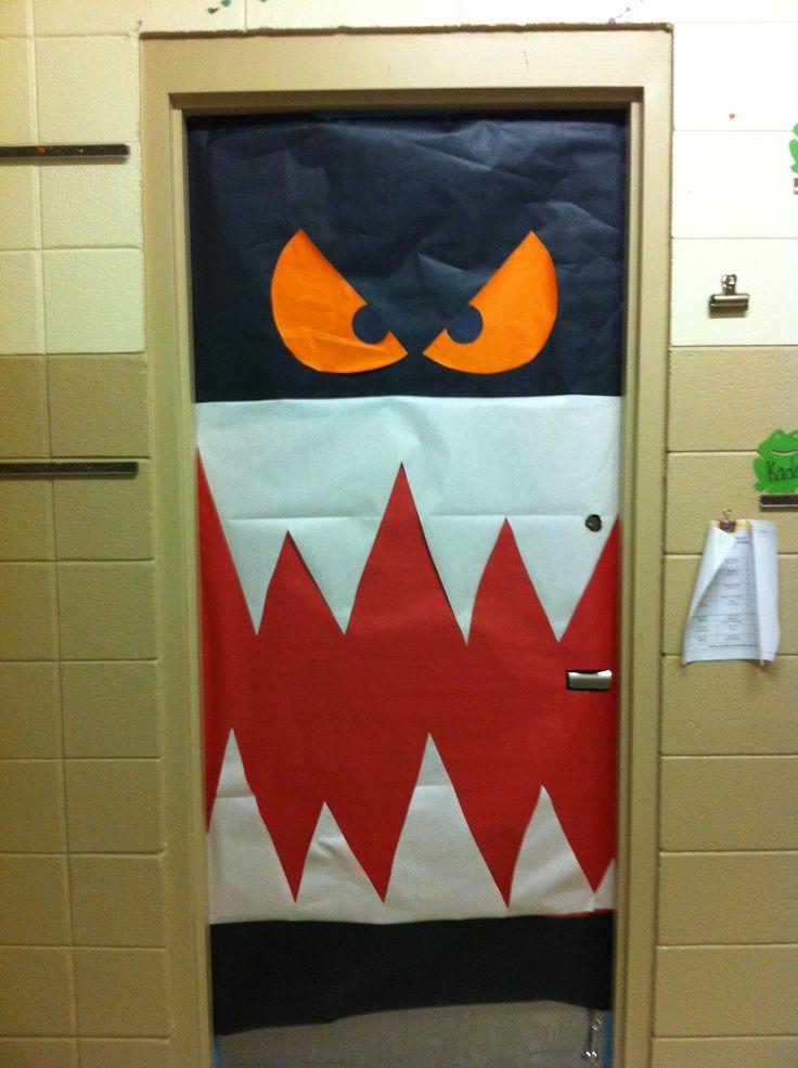 Classroom Door Decorations For Halloween 29 best halloween doors images on pinterest | halloween ideas