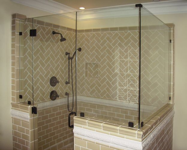 Steam Shower With Half Wall Google Search Master