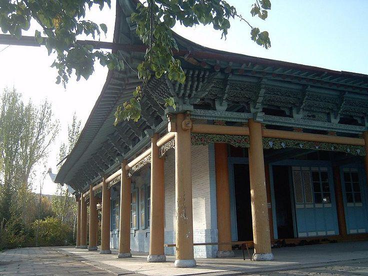 Karakol exterior de una mezquita