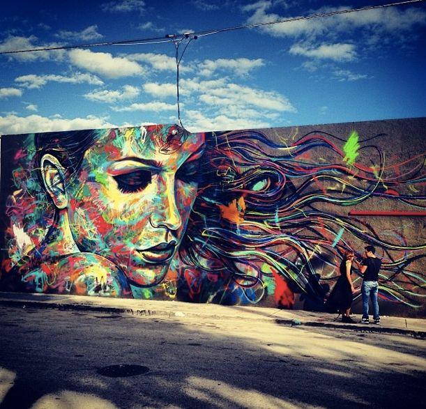David Walker Ravenectar Streetart Art Graffiti Dope