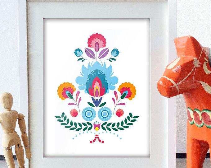 Scandinavian Folk Art primavera blu amore uccello fiore-Art Print  Dimensione del foglio: 8.5 X 11, 5 X 7 Dimensione della battuta: centrata sulla carta  Limmagine è stampata su carta fine art Epson velluto, che rende per unelegante stampa in cui Mostra ogni dettaglio dellopera originale. Filigrana verrà rimosso sulla stampa effettiva.  La stampa sarà inviata in una busta protettiva. La stampa sarà anche essere firmata e datata dallartista.  Decorazione e cornice non fanno parte…