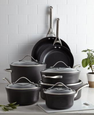 Calphalon Contemporary Nonstick 12-Pc. Cookware Set | macys.com