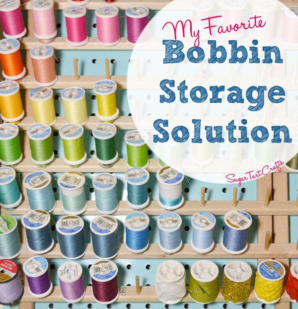 Tip of the Week - My Favorite Bobbin Storage Solution
