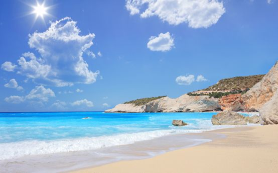 Porto Katsiki, Lefkada  http://linkgreece.com/travel/blog/blog/2015/03/19/the-top-10-greek-beaches-for-2015/