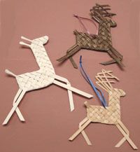 Plaited Reindeer, Horse & Giraffe, Etc. Pattern - by Wagner http://catalog.countryseat.com/plaitedreindeerhorsegiraffeetc.pattern-bywagner.aspx