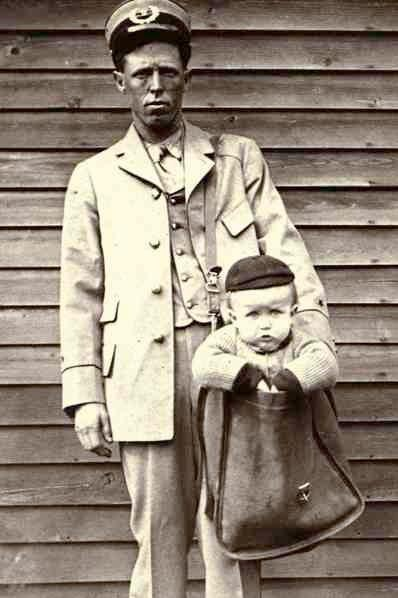 It used to be legal to send kids in the mail.When domestic parcel post service was introduced in the United States in 1913, Americans were finally able to send packages across the country at an affordable rate. Early on, some people chose to abuse this new service. At least two people sent their stamp-covered children through the mail before the Postmaster General was able to issue new regulations banning the practice. The National Postal Museum still has this humorous picture on display.