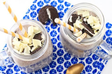Supersnelle Oreo milkshake met witte chocolade - SINNER SUNDAY