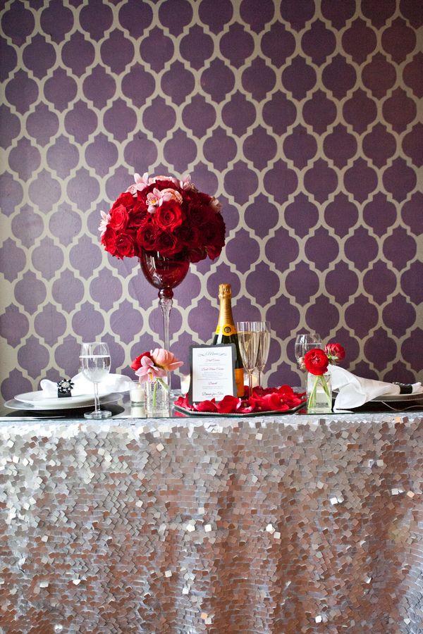 Vintage Rustic Valentines Dinner | Mickophoto