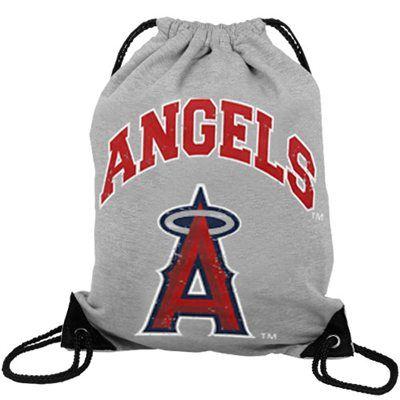 Los Angeles Angels of Anaheim Practice Backpack - Ash